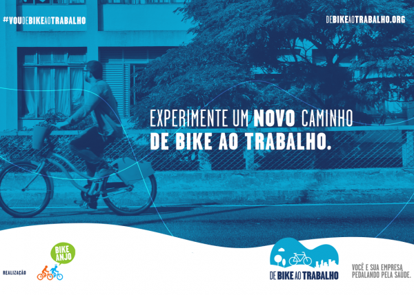 Bike to Work Campaign: pushing for active mobility, clean air and a healthier São Paulo