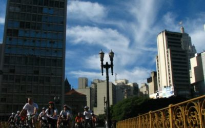 Cycling growing in popularity in brazilian megacity São Paulo: