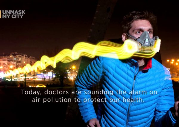 Evening Standard: New LED masks glow in the face of pollution to combat London's toxic air crisis
